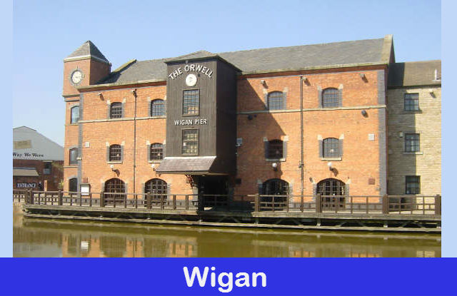 Wigan graphic